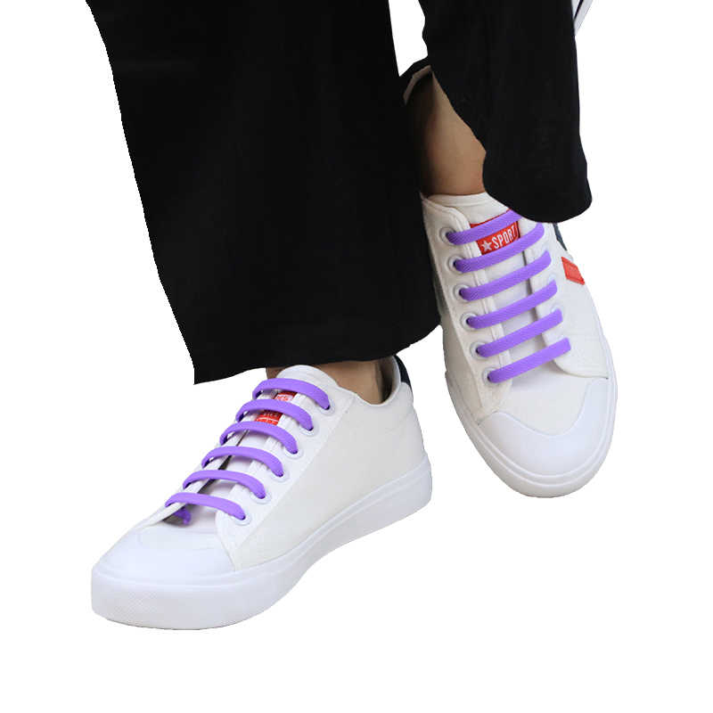 Специальные эластичные силиконовые шнурки 16 шт./упак. без галстука шнурки обувь для мужчин и женщин все кроссовки шнуровки резиновый шнурок взрослых