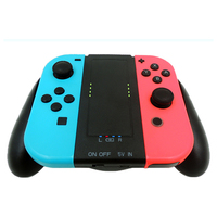 1000mAh Rechargeable Charging Grip Dock Station For Nintend Switch Batteries Charging Grip For Joy Con Pads