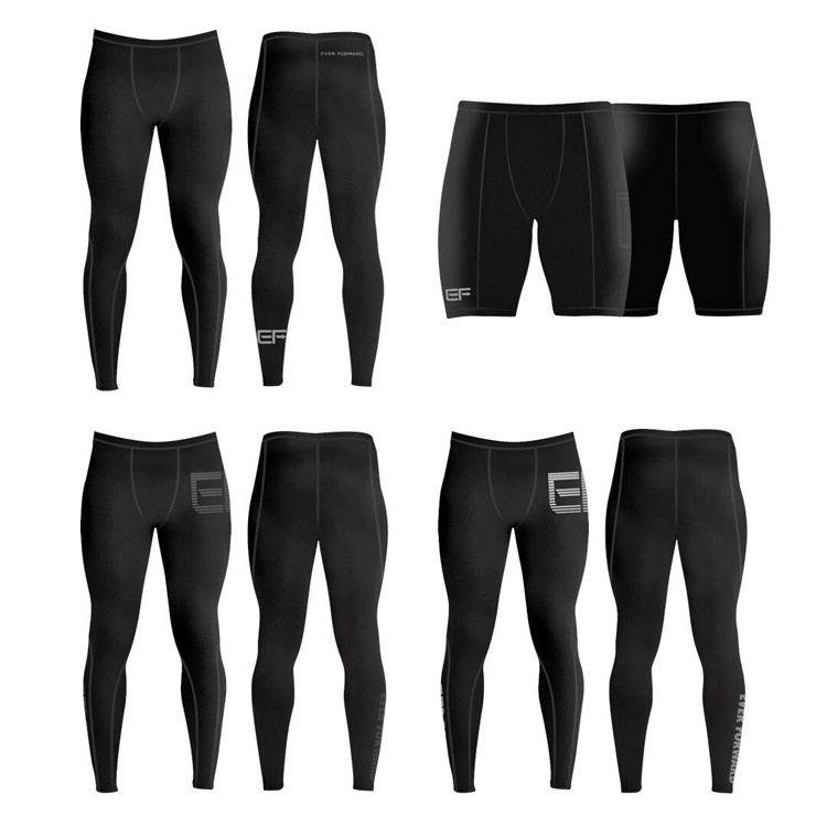 Men Fitness Bodybuilding Gyms Pants Runners Brand Clothing Sweat Tights Trousers Britches Compression Leggings