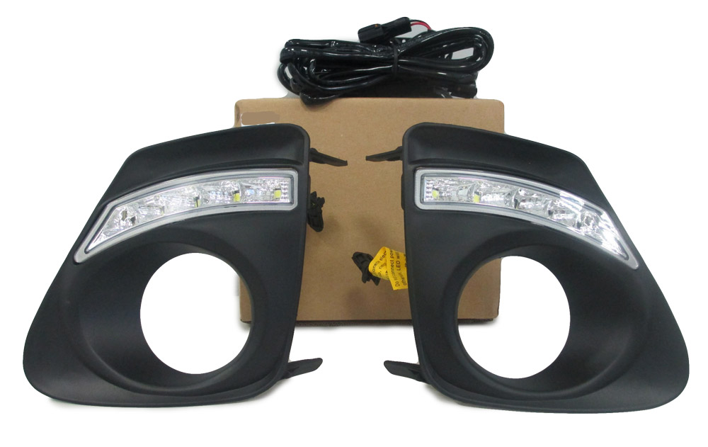 LED frame for Toyota Corolla 2010 2011 2012 2013 1 set car accessories styling car lights decoration automotive lamp