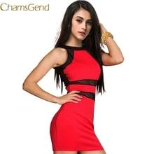 Chamsgend Dress Newly Design Womens Fashion Evening Sexy Party Mini Dress Club Party Dress Drop Shipping