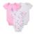 2016 100% Algodão Roupas Para Bebês Recém-nascidos 3 pçs/lote Infantil Dos Desenhos Animados Do Corpo Do Bebê de Manga Curta Roupas Íntimas Próximo Infantil Da Menina do Menino Roupas