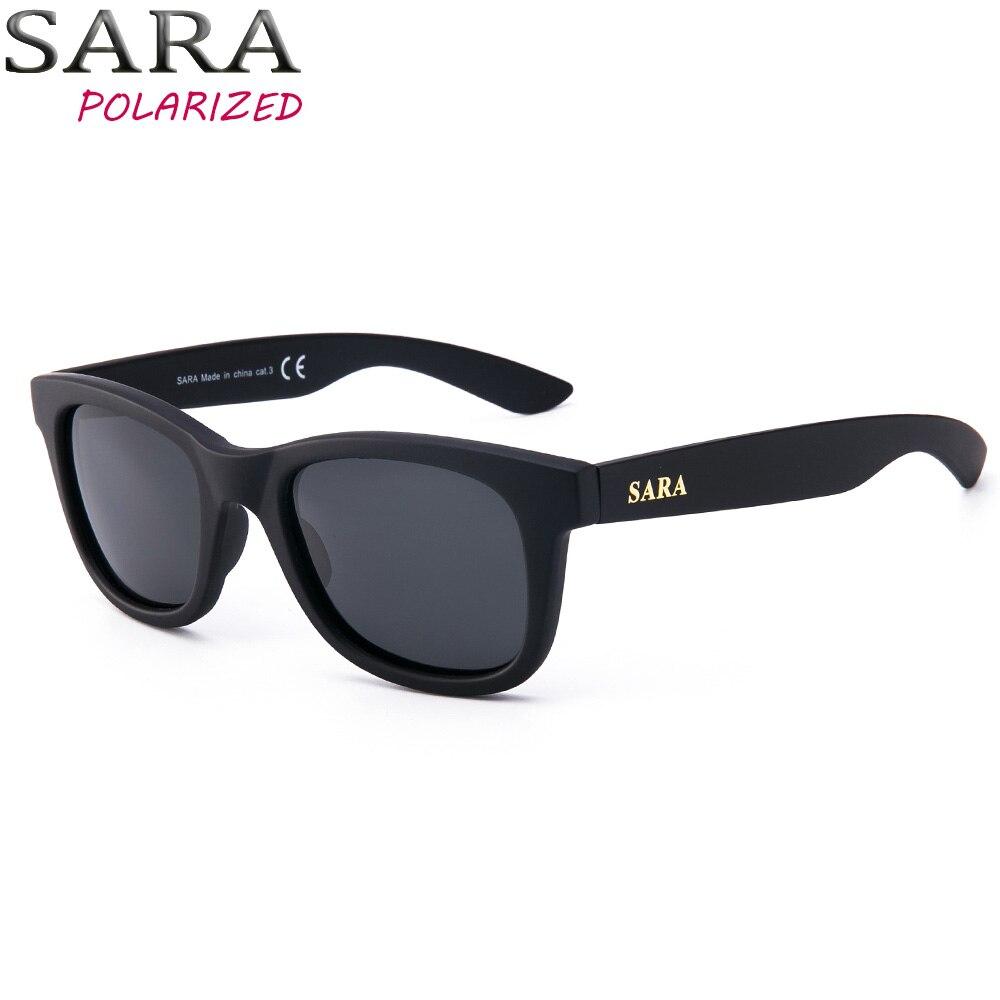 90b6b1045cf9 SARA Polarized Adult Round Sunglasses Men UV400 Polaroid Lenses Sun Glasses  Women Designer Polycarbonate Frame Glass S9020A-in Sunglasses from Apparel  ...