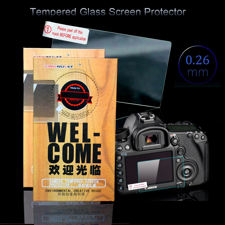 Original 3 inch Camera Tempered Glass Screen Protector For Nikon D500 D3400 D3300 Special Screen Toughened Glass Protective Film