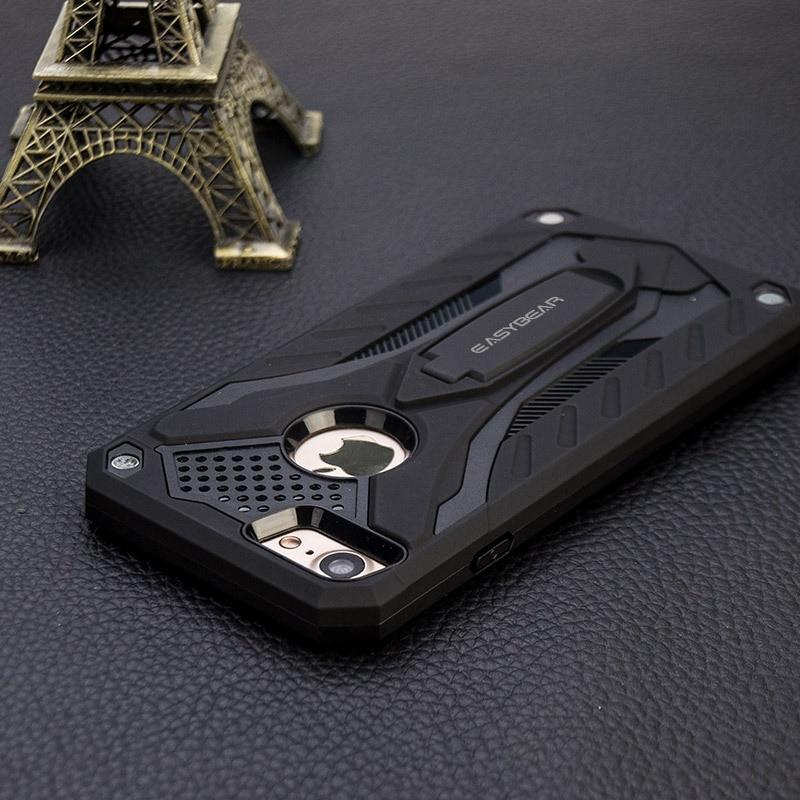 Anti-drop kasus untuk iphone 6 6S PC + TPU Mode Colorful Kasus - Aksesori dan suku cadang ponsel - Foto 2