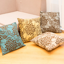 Factory Direct sale Jacquard cushion Chenille jacquard series Sofa Hotel set does not contain core sofa pillow cover
