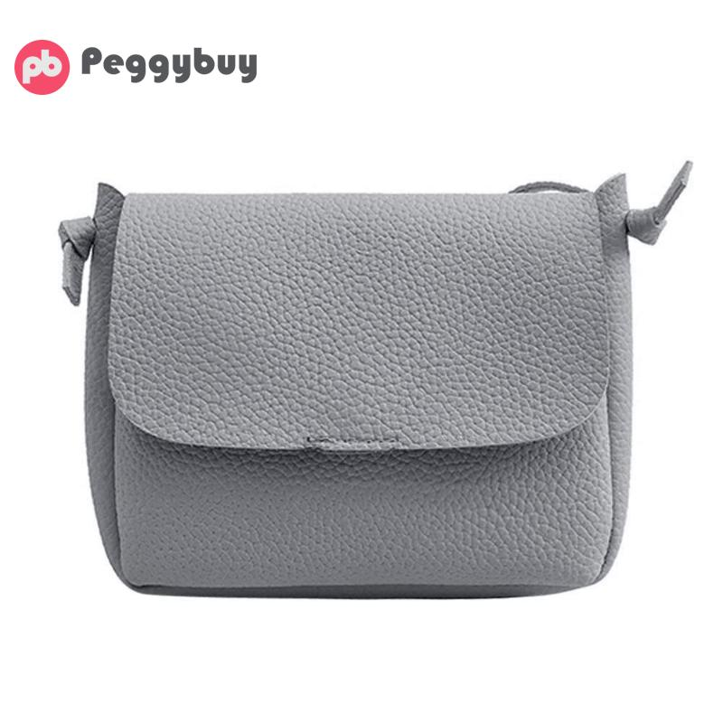 Fashion Simple Solid Women Messenger Bags PU Leather Mini Shoulder Handbag Candy color Designer Casual Shopping Crossbody Bag