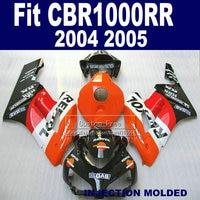 ABS100% fit Injection fairing kits for Honda 2004 2005 CBR1000RR CBR 1000 RR 04 05 CBR 1000RR repsol fairings bodykit