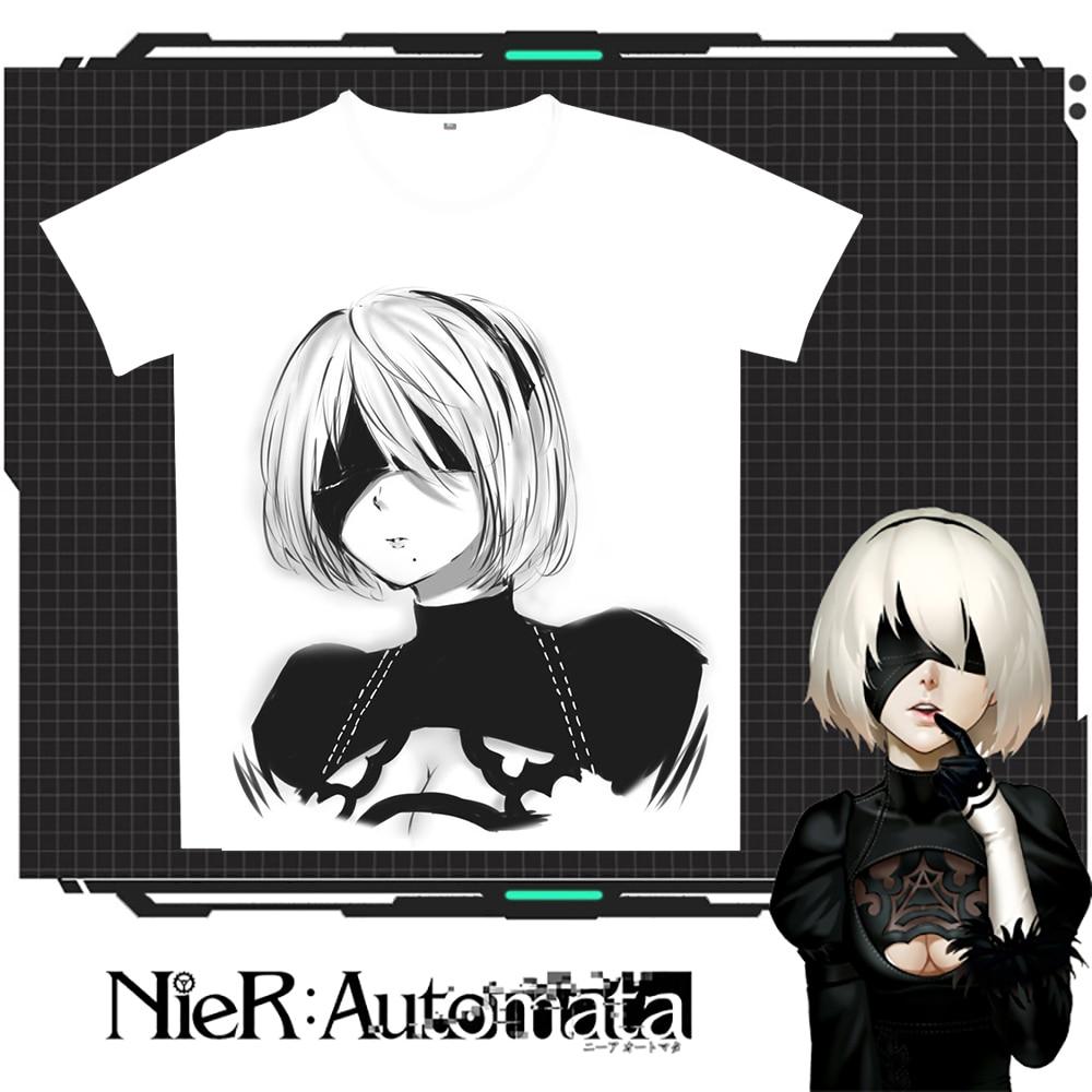 New Nier: T-shirt Rastesishme Automata 2B Burra Verore Gratë e - Veshje për meshkuj - Foto 2