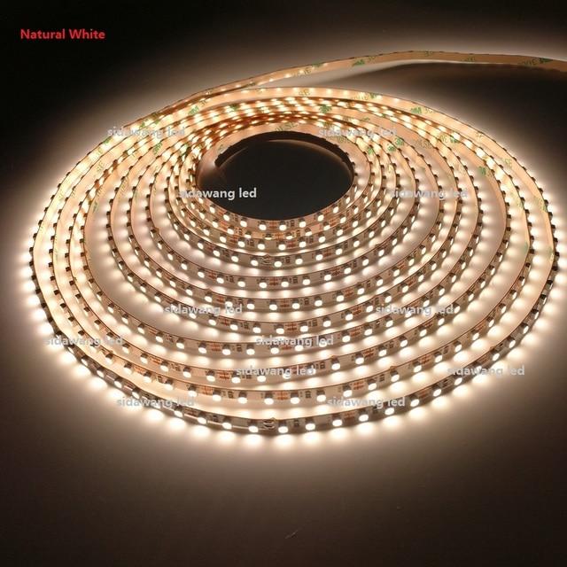 CRI> 95 + Ra 5mm LED Strip Verlichting SMD3528 dc12V 5 M 600 leds ...