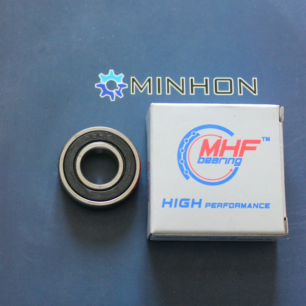 FREE SHIPPING MHF 5pcs R8-2RS Miniature Deep Groove Ball Bearings Size 12.7*28.575*7.94 Mm Best P High Performance