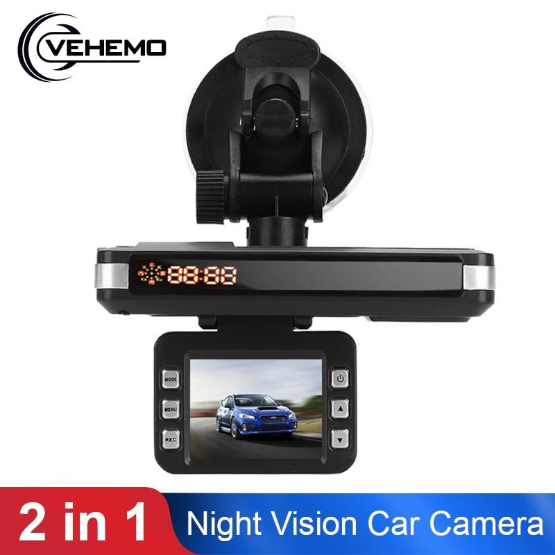 Vehemo 2 in 1 Car Speed Laser 360 Drgrees Car Camera Radar Durable Video Recorder Car