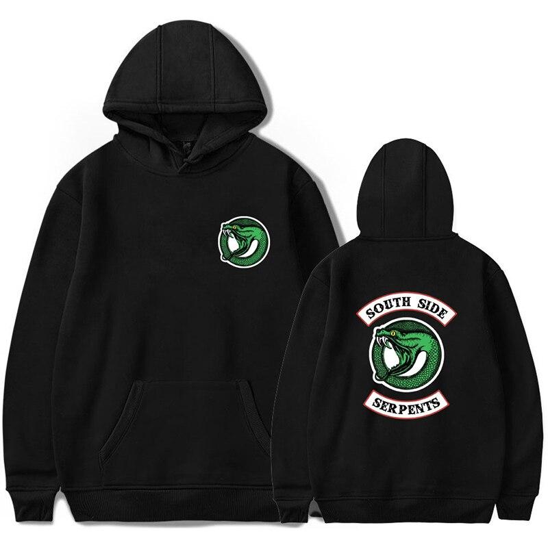 Hoodies & Sweatshirts Objective Luckyfridayf Riverdale Cotton Super Dalian Hat Sweatshirt South Snake Tv Drama Men And Women Street Leisure