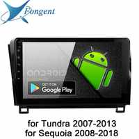 Android 9.0 Car Radio For Toyota Tundra 2007 2009 2010 2011 2012 2013 Sequoia 2008 2014 2015 2016 2017 2018 Multimedia 10.2