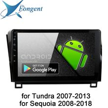 "Android 9,0 Radio de coche para Toyota Tundra 2007, 2009, 2010, 2011, 2012, 2013 Sequoia 2008, 2014, 2015, 2016, 2017, 2018 Multimedia 10,2 ""IPS(China)"