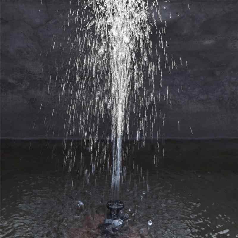 Садовый пруд бассейн Солнечный водяной насос фонтаны с вращающейся солнечной панелью ABS пейзаж погружной полив фонтан птица ванна