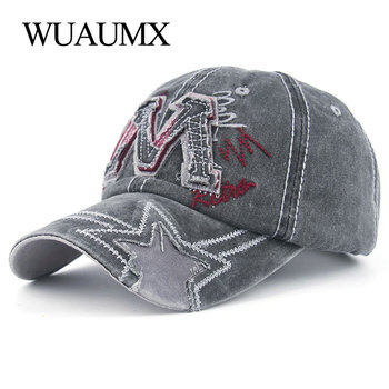 2e1112ca5ac6 Wuaumx gorras para hombre de marca X bordado gorras para Mujeres Hombres  clásico gorra de béisbol ...