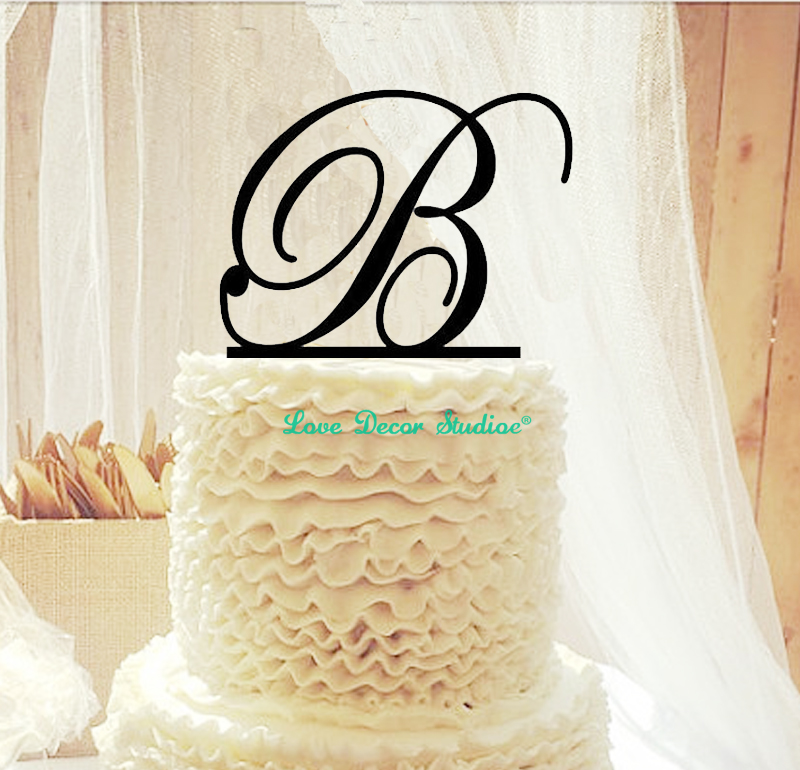 Custom Wedding Cake Topper, Personalized Cake Toppers,Cake Topper ...