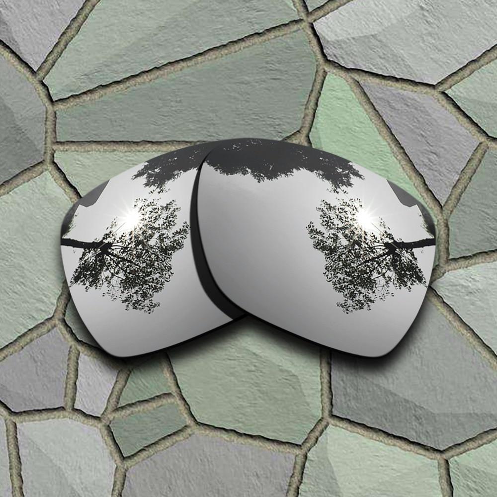4ef8c3d95e Cheap Gafas de sol de titanio cromado y azul cielo lentes de reemplazo  polarizados para desviación