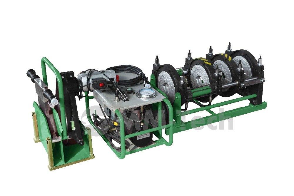 MACHINE de soudage par FUSION bout à bout de tuyau de HDPE de SWT-B160/50 H