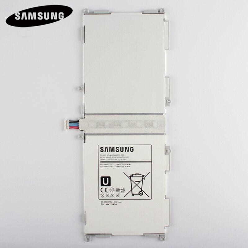 100% Original Tablet Batterie EB-BT530FBC EB-BT530FBE Für Samsung GALAXY Tab 4 T530 SM-T531 SM-T533 SM-T535 T535 SM-T537 6800 mAh