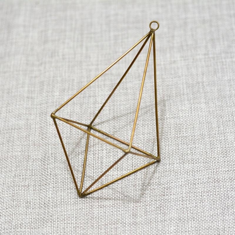 Bonsai Free Shipping Polyhedron No Glass Geometric Terrarium Box