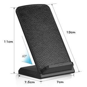 Image 5 - 10 ワット高速チーワイヤレス充電器電話ワイヤレス充電誘導充電器のiphone xr xs max x 8 プラスサムスンギャラクシーS9 S8