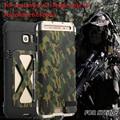 R-sólo armor king iron man metal a prueba de golpes caso del tirón para el iphone 6 6 s 6 plus samsung galaxy s6 s7 s7 edge nota 4/nota 5 potente