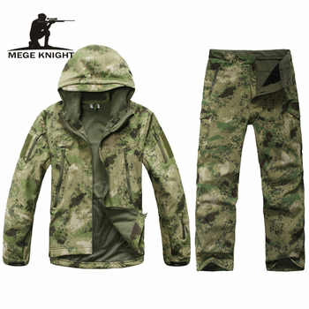 Camouflage military uniform, winter thermal fleece tactical clothes, U.s. army military clothing - DISCOUNT ITEM  54% OFF All Category