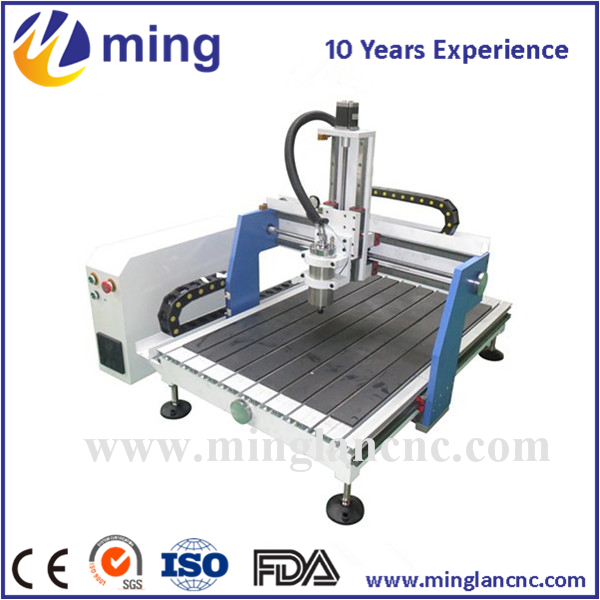 Small mini milling machine CNC router 6090 with cnc bit mini cnc router rtm 6090 with t slot vacuum table