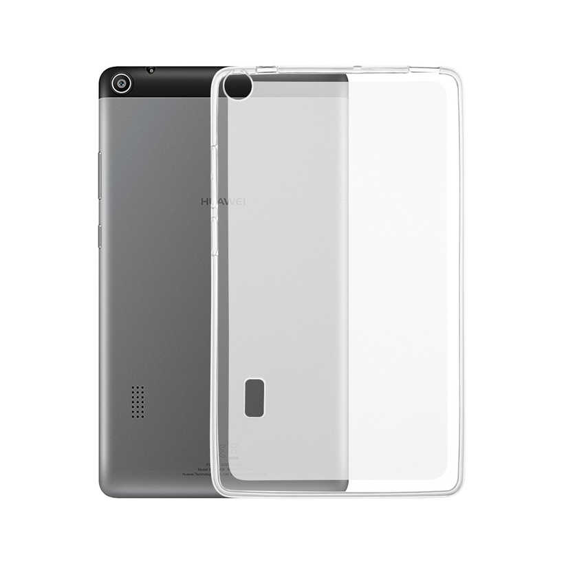 Clear Soft Silicone Case For Huawei MediaPad T1 10 A21W Cover Skin Shell T1 S8-701U 7.0 T3 7.0 8.0 9.6 M2 10.1 Tablet TPU Bag