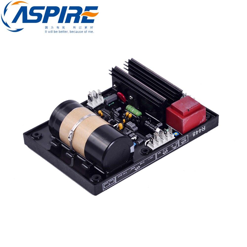 Aspire R448 brushless generator avr ac voltage regulator