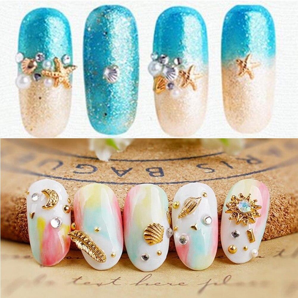 100pcs Japan Design Summer Hot Selling Ocean Starfish Nail Art
