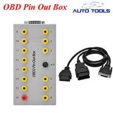 10pcs lot via DHL FREE font b Car b font OBD2 breakout box font b car