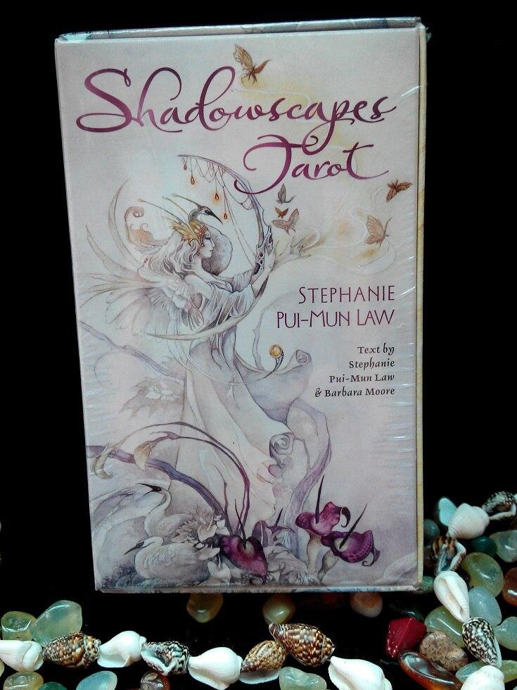 Original All English version Shadowscapes Tarot cards 78 pcs set boxed playing card Mysterious magic tarot