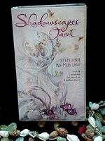 Original All English version Shadowscapes Tarot cards 78 pcs/set boxed playing card Mysterious magic tarot cards board gaming