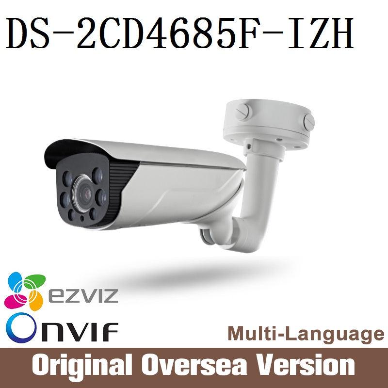 HIKVISION Ip Camera DS-2CD4685F-IZH 2.8-12mm Cctv Bullet 1080p Poe audio Ip66 da hua English Version H265 da hua Onvif RJ45 uk change up intermediate teachers pack 1 audio cd 1 cd rom test maker