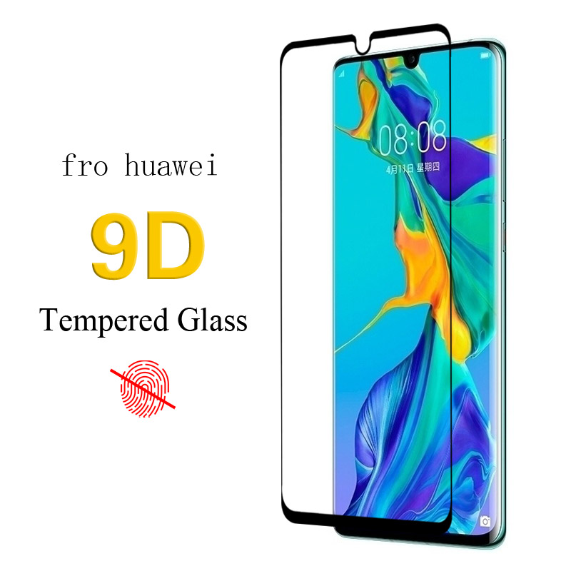 9D Tempered Glass For Huawei Honor 8C 7S protectors Screen glass p30 pro Full Cover