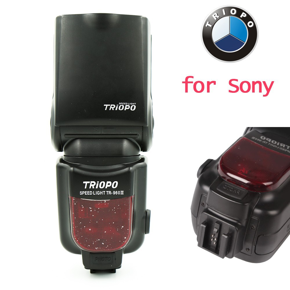 ФОТО Triopo Speedlite Flash Speedlight TR-960 III 2.4G Wireless Suit for Sony A850 A450 A500 A560 A77 A65 A33 A35 Cameras Genunie