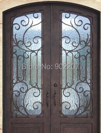 hierro forjado puertas de entrada de hierro