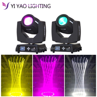2pcs/lot Sharpy beam moving head light 200w 5r moving head lights