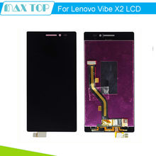 100% Test For Lenovo Vibe X2 LCD Display Touch Digitizer Screen Sensor Assembly  Replacement Parts