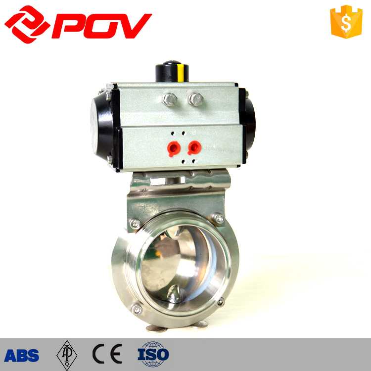 food grade clamp connection sanitary butterfly valve 100g vitamin e food grade usa imported
