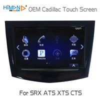 Himan CARCAV OEM Cadillac ATS CTS SRX XTS CUE TouchSense Replacement Touch Screen Display 8 In Dash Monitors