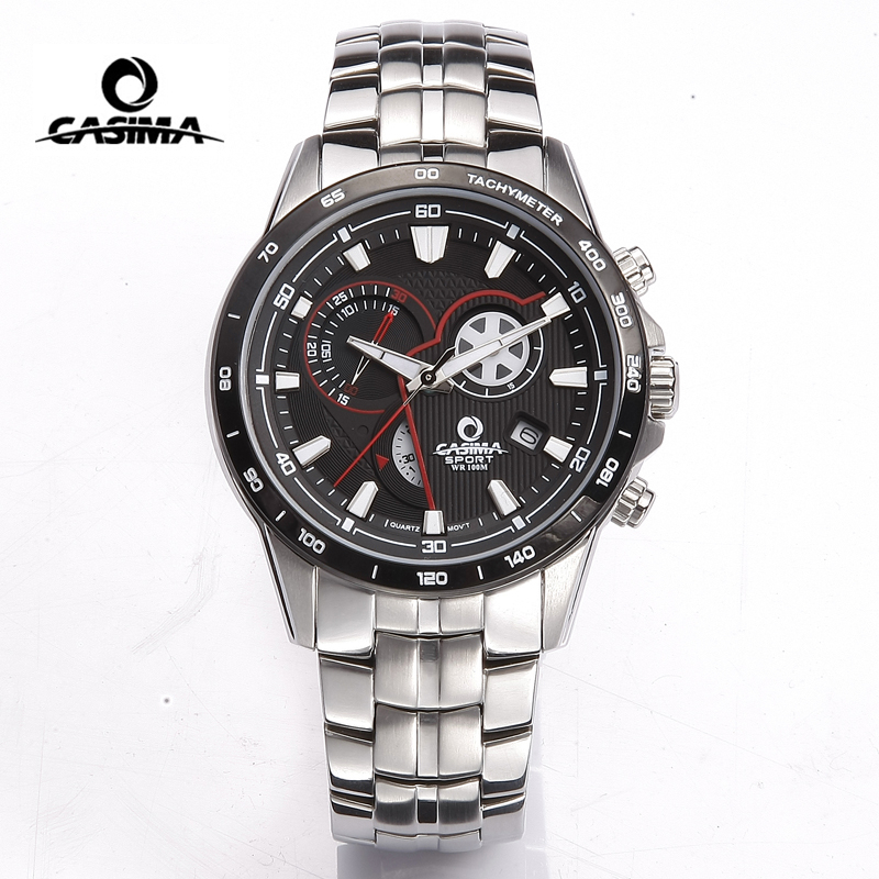 CASIMA Men Military Watch Fashion Luminous 100M Waterproof Diver Sport Quartz Wrist Watch Clock Man 2017 saat Relogio Masculino montre homme casima sport watch men waterproof silicone band week date quartz wrist watch dual time clock saat relogio masculino