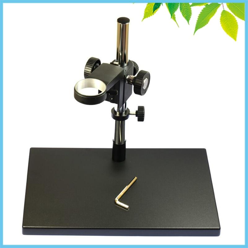 ФОТО 7 KGS Big Base Metal Universal Lift Mount Adjustable Stand Elevation Mount for Monocular Digital Microscope