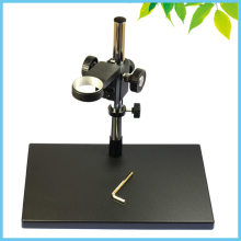 Cheaper 7 KGS Big Base Metal Universal Lift Mount Adjustable Stand Elevation Mount for Monocular Digital Microscope