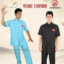 Ccwushu Wushu Uniform Wushu Kleding Chinese Kungfu Changquan Nanquan Kleren Chiese Kungfu Styel