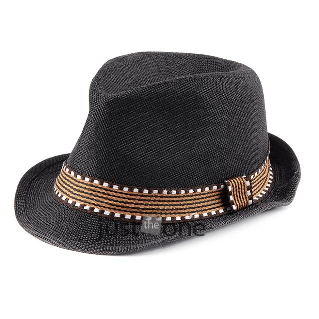 2014 New Toddlers Kids Girls Boys Children Stylish Cute Cool Cap Canvas  Jazz Style Hat Party Church Hat 3a391538d3c