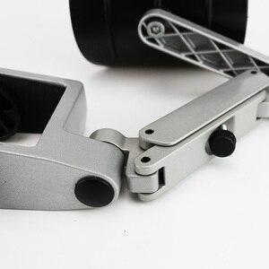 Image 5 - Metal Adjustable Arm Rest Wrist support Extended Mousepad Armrest for Computer Ergonomic Hand Comfort Mouse Pad Shoulder Protect